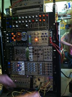 The Church of the Super Serge--an on going Free Monthly Modular Synthe Hail To The Thief, Synthesizer Music, Music Machine, Signal Processing, Music Production, Reggae Music, Electronic Music, Techno, Keyboard
