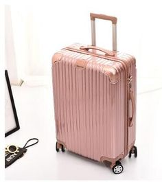 MHO 20 Carry On Luggage Hard Case Spinner Suitcase Lightweight Suitcase with TSA Lock