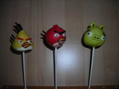 Angry Birds Cake Pops Crafted by: ~Cake Pops By AJ~