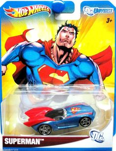 Hot Wheels 2012 DC UNIVERSE Superman 1:64 Scale Premium Collectible