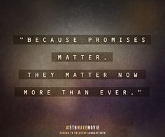 Sometimes a promise is all we have left. #5thWaveMovie