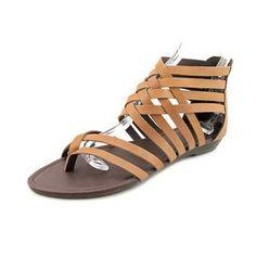 bcc2a440e99 N.Y.L.A. Women s  Shyne  Leather Sandals Size 10 Women