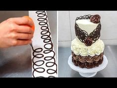 Chocolate Decoration Cake by CakesStepbyStep - YouTube