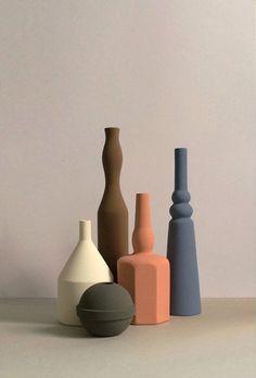 Sonia Pedrazzini ceramics design still life styling