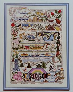 For your consideration is a beautiful counted cross stitch pattern/chart as shown in the picture and listing title. This chart is hard to