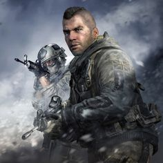 "John ""Soap"" MacTavish - Call of Duty Modern Warfare Series"