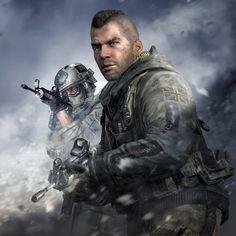 "John ""Soap"" MacTavish - Call of Duty Modern Warfare Series"