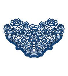 Tattered Lace Metal Die-Rose Ornate