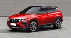 Is This How An N Version Of The 2022 Hyundai Tucson Might Look Like? Tucson, Volvo Wagon, Honda Hrv, Nissan Rogue, Mazda Miata, Kia Sportage, Jeep Gladiator, Cladding