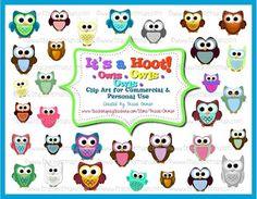 Mrs. Orman's Classroom: It's a Hoot! Super Cute Owl Clip Art