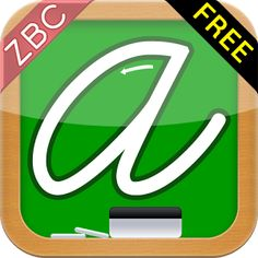 Great app to teach your kids how to write in cursive!!!!