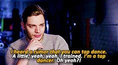 Dominic Sherwood can tap dance