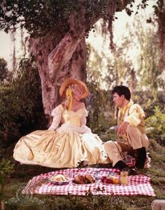 Elvis Presley and Donna Douglas in Frankie and Johnny (1966)