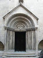Portale della Chiesa di san Giacomo Maggiore, Gavi