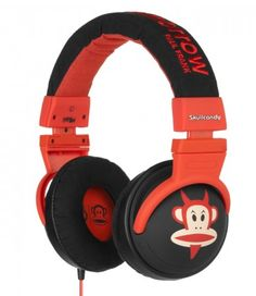 Kind of love these SkullCandy kids' headphones from Paul Frank