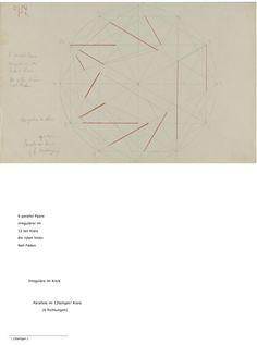 Paul Klee 'Bildnerische Formlehre - Bildnerische Gestaltungslehre'. Zentrum Paul Klee, Bern