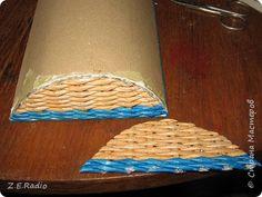 ládikó Поделка изделие Плетение Сундучок для мальчишечьих сокровищ Бумага газетная Трубочки бумажные фото 6