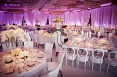 Hollywood regency wedding