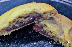 PB chocolate lava cookies