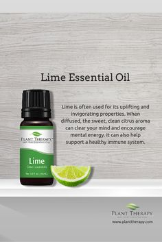 Lime is one of our favorite smelling oils! It is very uplifting, and is great for use in homemade cleaning products. Lime essential oil is also amazing for the immune system.