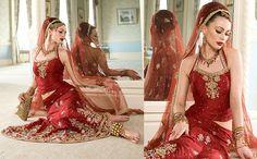 wedding choli