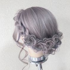 Get Balayage Highlights - 8 Best Ways to Get Your Natural Hair Color Back - The Trending Hairstyle Kawaii Hairstyles, Pretty Hairstyles, Wig Hairstyles, Hairstyle Ideas, Kawaii Wigs, Lolita Hair, Short Hair Styles, Natural Hair Styles, Hair Arrange