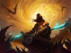 Diablo 3: Monk by Shockowaffel.deviantart.com on @deviantART