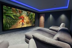 Home Theater Room Design, Home Cinema Room, At Home Movie Theater, Home Building Design, Home Theater Rooms, Building A House, Swimming Pool House, Media Rooms, 4 Wheelers