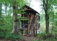 Timber Frame Tree House | Dreaming Creek