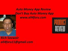 Auto Money App Review, Don't Buy Auto Money App