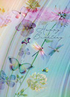 Birthday Wishes Flowers, Happy Birthday Wishes Quotes, Happy Birthday Flower, Birthday Pins, Happy Birthday Images, Happy Birthday Greetings, 21 Birthday, Sister Birthday, Flirting Quotes