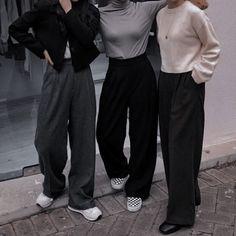 Ross Geller, Joey Tribbiani, Phoebe Buffay, Rachel Green, Tomboy, Light Blue, Female, Pants, Outfits
