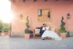 Bei Sonnenuntergang in La Villa Starnberg