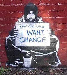 """""""Be the change you want to see in the world"""" - M. Gandhi"""