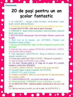 You searched for Cum sa ai un an scolar fantastic in 20 de pasi simpli - EmaLaScoala First Day Of School, Back To School, Lessons For Kids, Emotional Intelligence, Kids Education, Education Quotes, Classroom Management, Teacher Resources, Preschool Activities