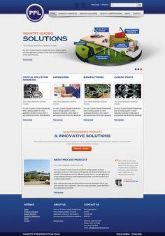 Fullview of simple web design