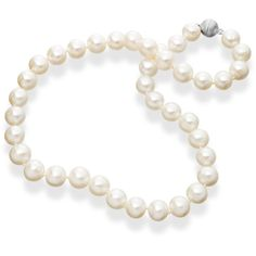 Manhattan Pearls Park Avenue Necklace ($525) ❤ liked on Polyvore featuring jewelry, necklaces, accessories, pearls, white, pearl necklace, pearl bridal jewelry, white jewelry, anniversary necklace and magnetic necklace