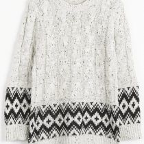 Cupshe Local Heroes Ethnic Twist Sweater