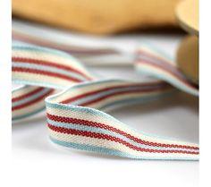 Deck Chair Stripe Ribbon for bubble tray £0.85 per metre