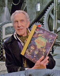 Vincent Price as the Inventor in Edward Scissorhands