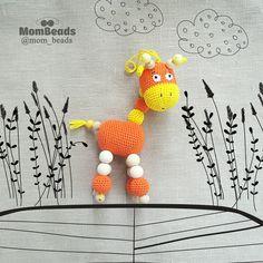 """""""MomBeads"""" Слингобусы. Вязаные игрушки"""