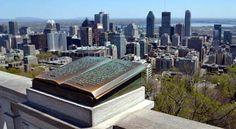No alto de uma montanha canadense existe um mirante de onde se vê uma bela cidade, logo abaixo. Na murada deste mirante existe um monumento construído em bronze, na forma de livro. O texto nele gravado informa que em outubro de 1535 Jacques Cartier, um explorador francês impressionado com a beleza da vista que se descortinava daquela montanha, decidiu que ela passaria a se chamar Mont Royal. Esta seria a origem do nome da cidade de Montreal,