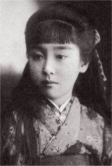 Tamako Hayashi, ca 1908. ~Repinned Via noraneko [野良猫]