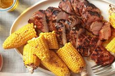 Hearty Dinner: Grilled Pork Tenderloin with Corn on the Cob - Thoughtful Women