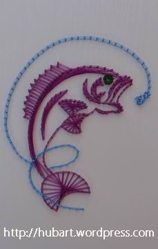 fish string art - Google Search