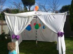 Washing line tent!!