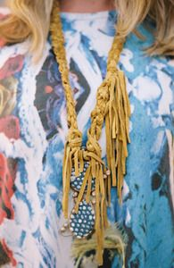 Image of BZippy & Co. Ceramic Necklace #2