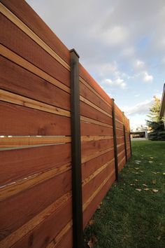 Image result for horizontal privacy fence