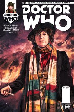 TITAN COMICS AND BBC WORLDWIDE ANNOUNCE NEW MINISERIES STARRING THE FOURTH DOCTOR, AS PLAYED BY TOM BAKER!