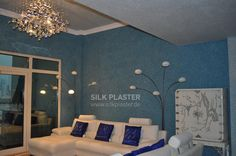 Liquid wallpaper SILK PLASTER from manufacturer. We offer best quality by reasonable prices! Silk Plaster, Diy Wallpaper, Toddler Bed, Drawings, Coffee Shops, Furniture, Bedrooms, Room Ideas, Home Decor